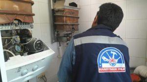 Reparación de calderas